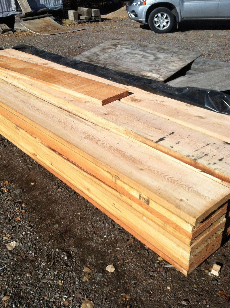 Inland Red Doug Fir Furniture Planks.