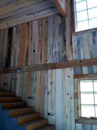 blue-stained-pine-panels