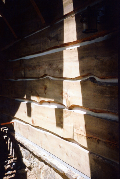 1 3/4 Wain Edge Rustic Pine Siding