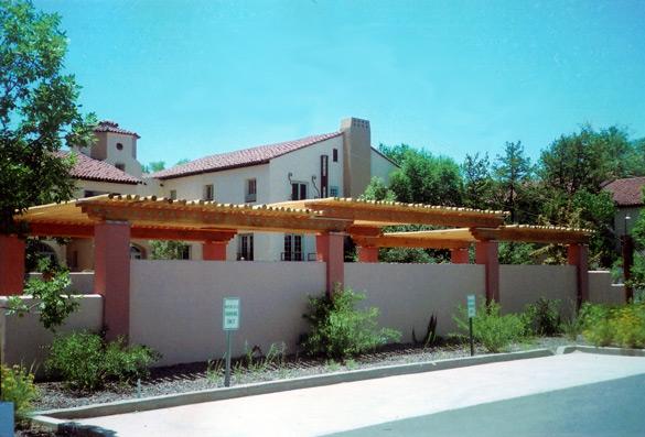 Front Entrance, La Pasada Hotel, Winslow, AZ