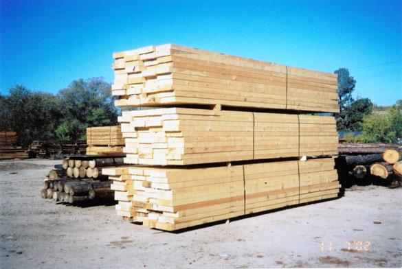 Rough Ponderosa Timbers